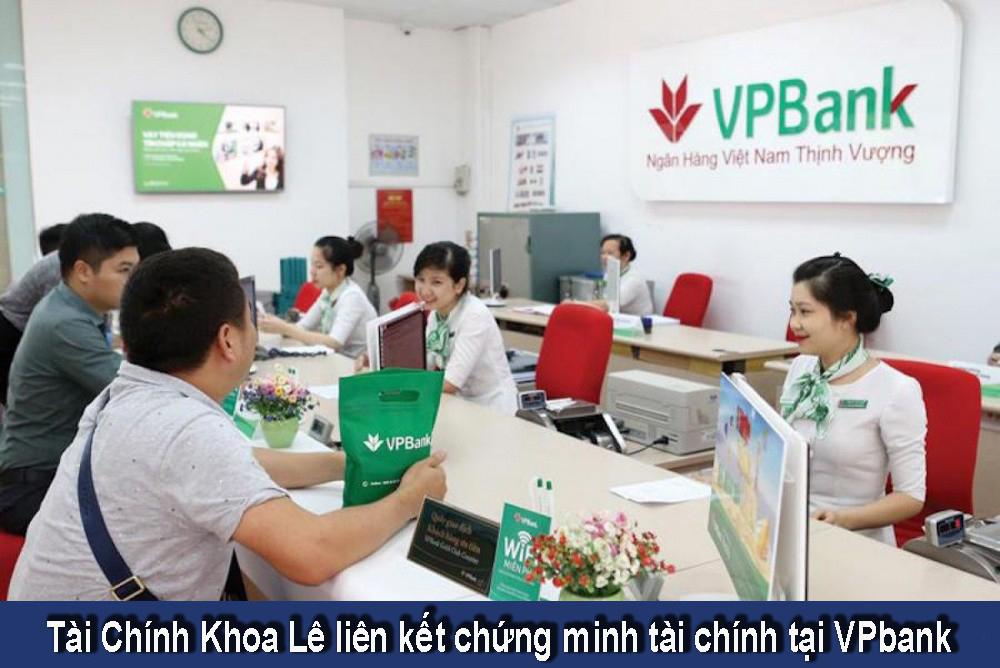 Chứng minh tài chính VPbank
